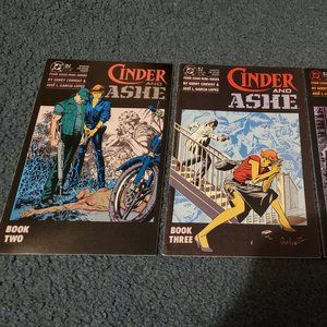 Cinder and Ashe Comic Lot